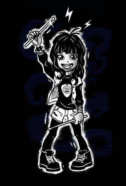 super rock girl star